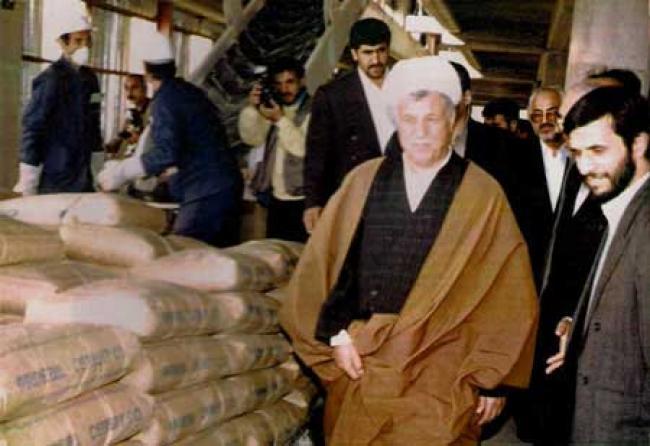 عکس قدیمی هاشمی رفسنجانی