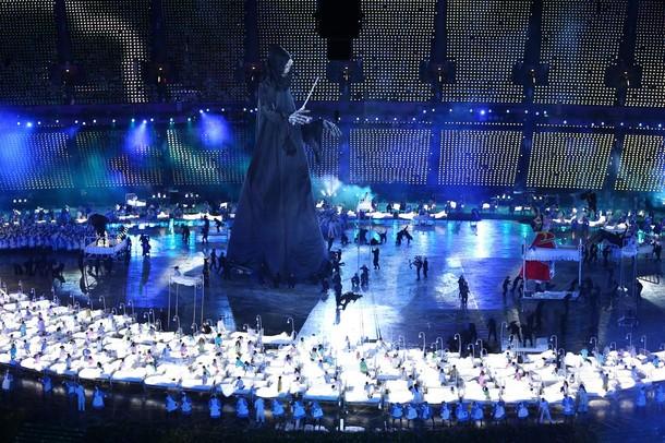 20460 647 مراسم افتتاحیه المپیک لندن + تصاویر