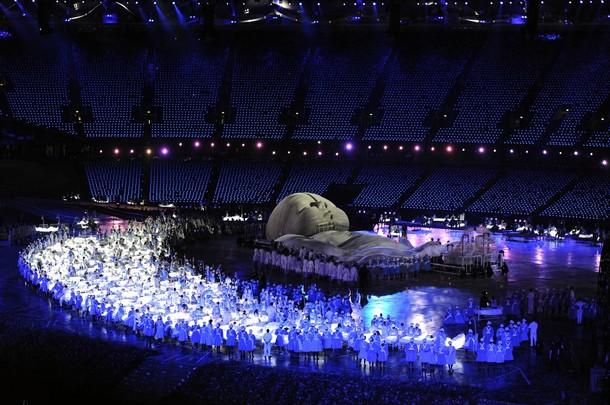 20464 828 مراسم افتتاحیه المپیک لندن + تصاویر