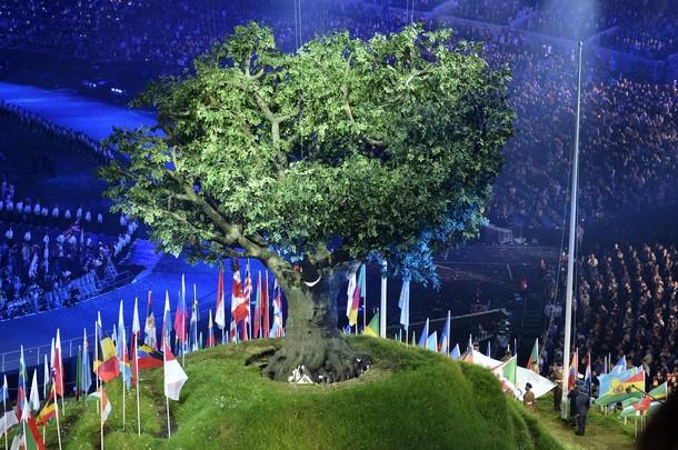 20471 629 مراسم افتتاحیه المپیک لندن + تصاویر