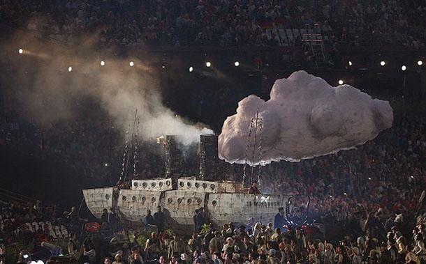 20473 710 مراسم افتتاحیه المپیک لندن + تصاویر