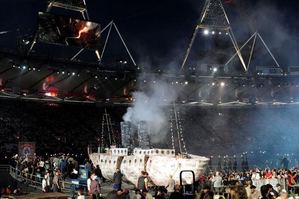 20475 968 مراسم افتتاحیه المپیک لندن + تصاویر
