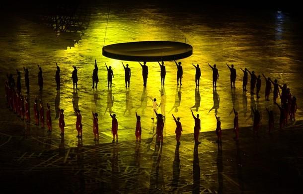 20483 614 مراسم افتتاحیه المپیک لندن + تصاویر