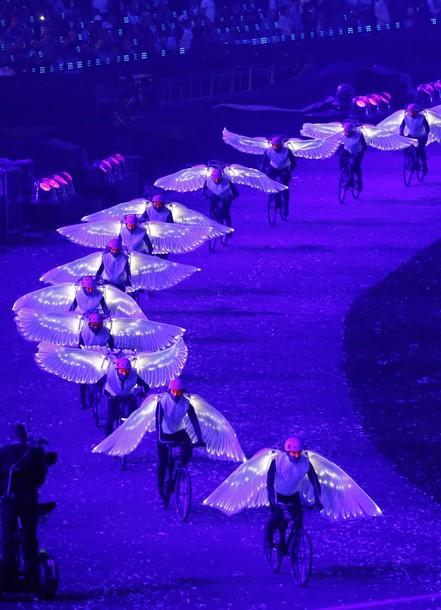 20486 193 مراسم افتتاحیه المپیک لندن + تصاویر