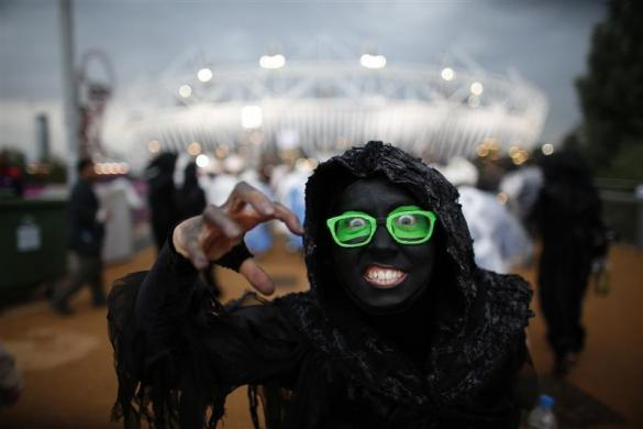20669 618 مراسم افتتاحیه المپیک لندن + تصاویر