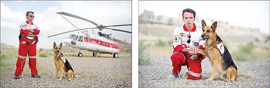 25529 798 سگی که جان زلزله زدگان را نجات داد +تصاویر