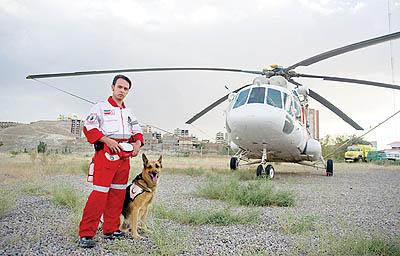 25530 320 سگی که جان زلزله زدگان را نجات داد +تصاویر