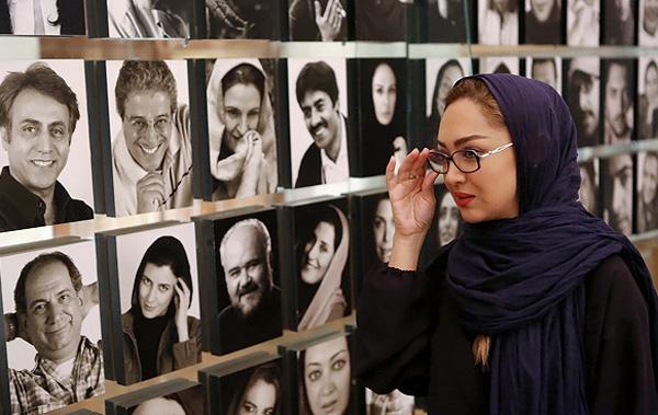 رونمايي غرفهي نيكي كريمي در موزه سينما