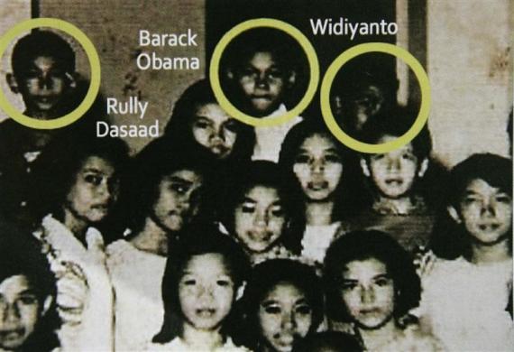 کودکی و نوجوانی باراک اوباما