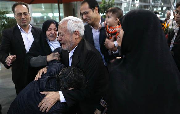 بازگشت  گروگان  های   ایرانی + عکس
