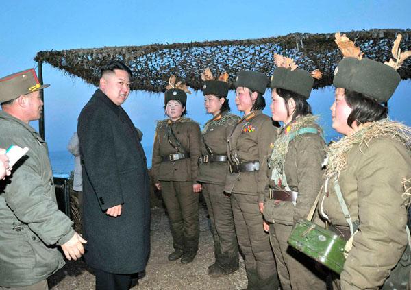 گزارش تصويري از آمادگي ارتش كره شمالي براي جنگ