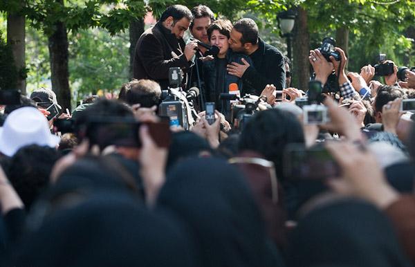 59993 457 مراسم تشییع عسل بدیعی/عکس