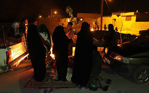 61823 190 اصفهان پس از وقوع زلزله/تصاویر