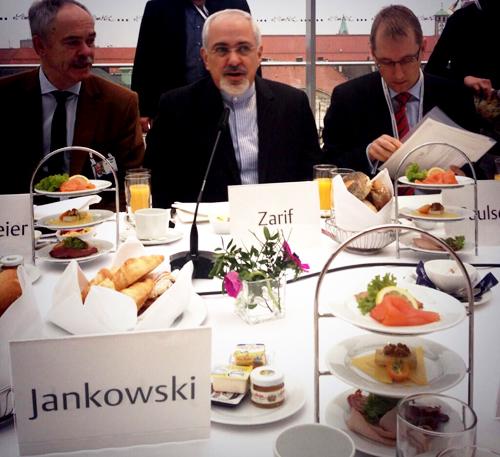 محمدجواد ظریف, اجلاس مونیخ