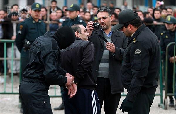 اعدام قاچاقچی مواد مخدر در قزوین +تصاویر