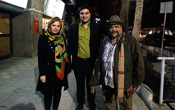 عکس جدید نیوشا ضیغمی و همسرش در سینما فرهنگ