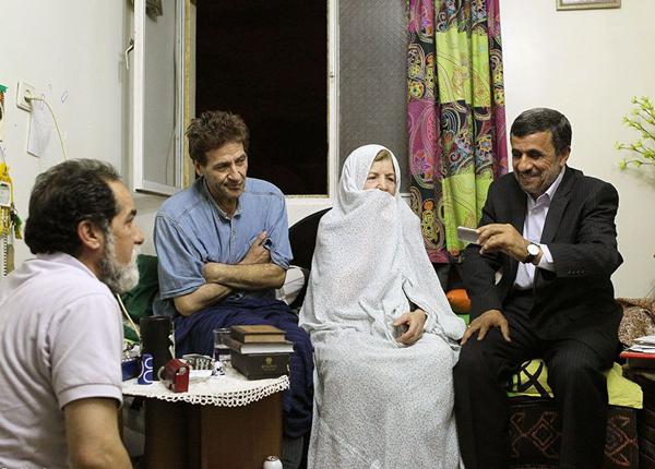 چهره باورنی ابوالفضل پورعرب بعد از ابتلا به سرطان عکس