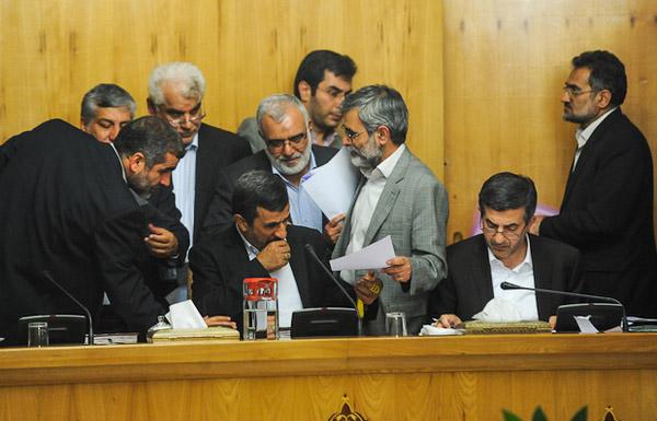 (تصاویر) متن و حواشی جلسه دولت