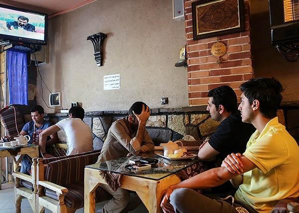 (تصاویر) مردم و مناظرهها