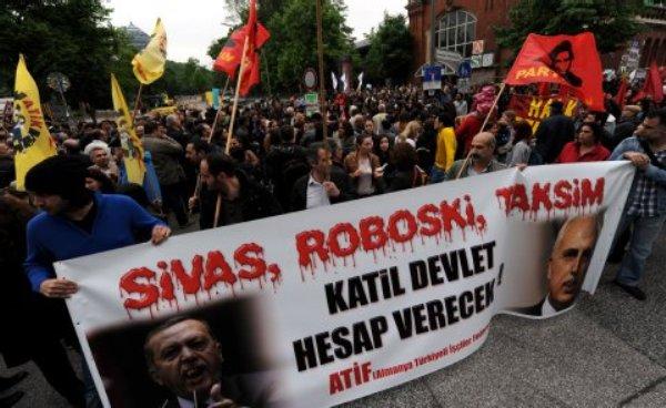 واکنش های جهانی به اعتراضات ترکیه