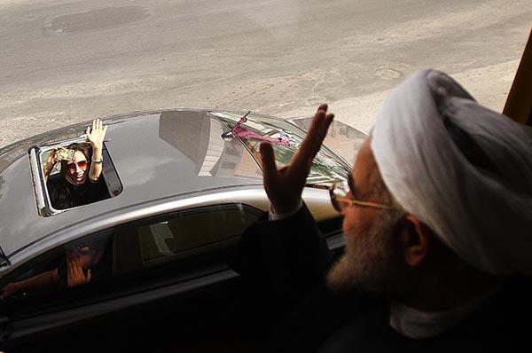 69642 461  (تصاویر) روحانی در ارومیه و تبریز