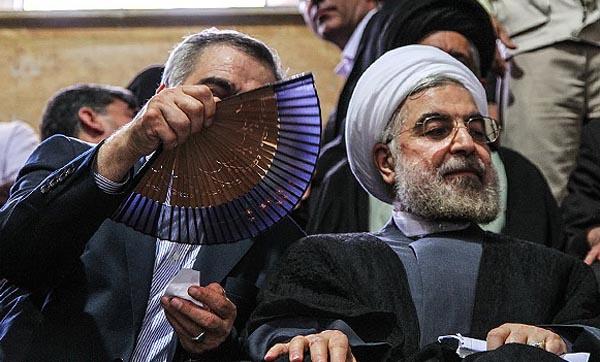 69646 156  (تصاویر) روحانی در ارومیه و تبریز
