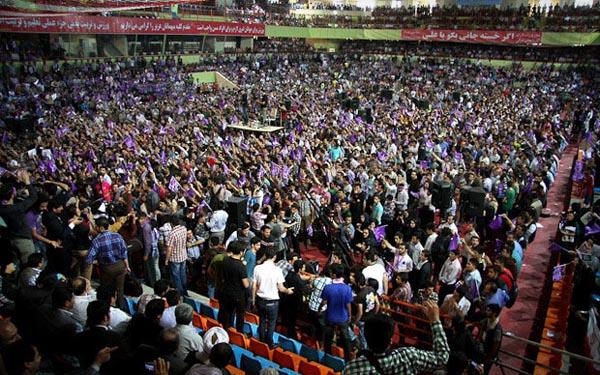 69655 824  (تصاویر) روحانی در ارومیه و تبریز