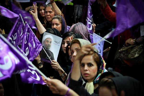 69658 108  (تصاویر) روحانی در ارومیه و تبریز
