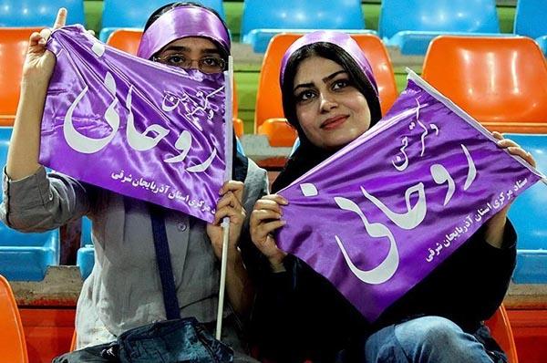 69659 487  (تصاویر) روحانی در ارومیه و تبریز