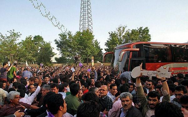 70126 641  (تصاویر) حسن روحانی در مشهد