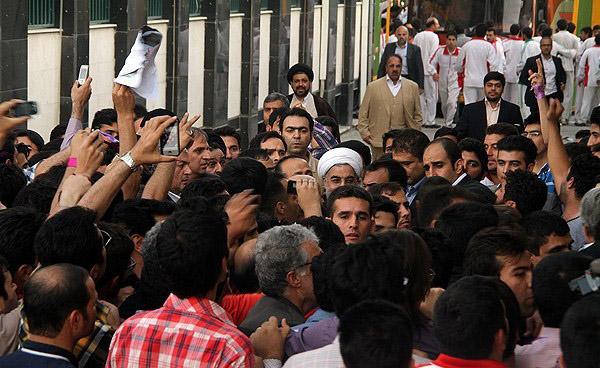 70127 493  (تصاویر) حسن روحانی در مشهد