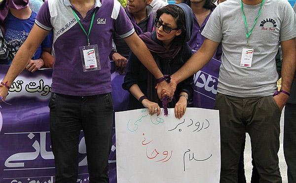 70134 752  (تصاویر) حسن روحانی در مشهد