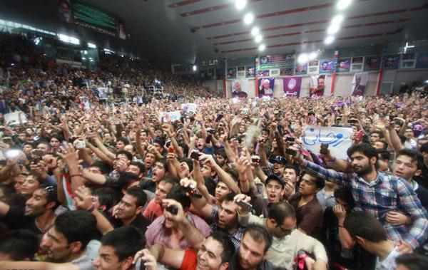 70137 762  (تصاویر) حسن روحانی در مشهد