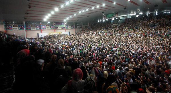 70138 286  (تصاویر) حسن روحانی در مشهد