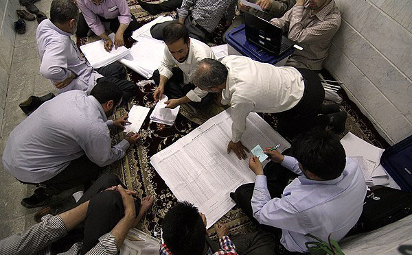 70656 344  (تصاویر) شمارش آراء انتخابات ریاست جمهوری