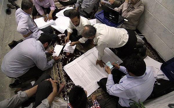 70657 647  (تصاویر) شمارش آراء انتخابات ریاست جمهوری