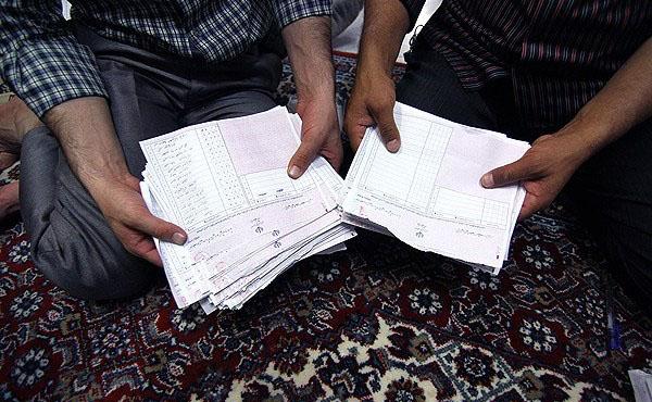70659 944  (تصاویر) شمارش آراء انتخابات ریاست جمهوری