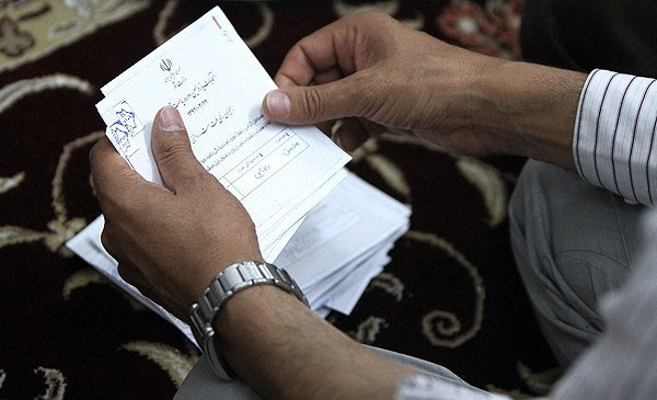 70666 583  (تصاویر) شمارش آراء انتخابات ریاست جمهوری