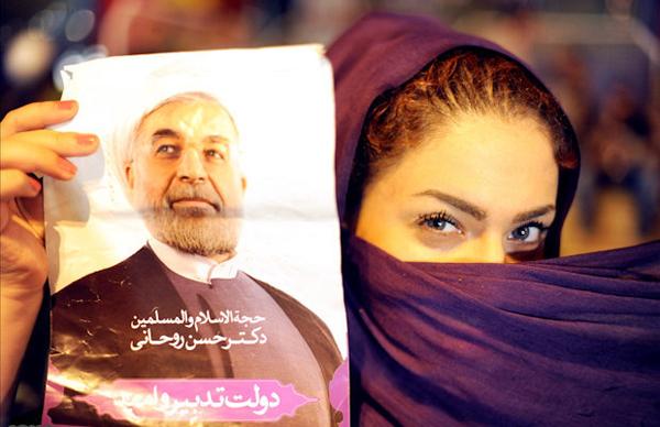 70901 236 - عکس: شادی مردم تهران پس از پیروزی روحانی