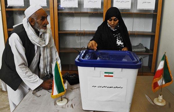 71171 979  (تصاویر) انتخابات ایران از چشم غربی