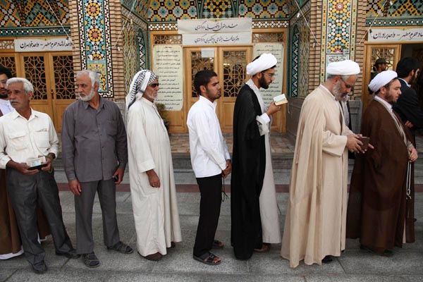 71174 621  (تصاویر) انتخابات ایران از چشم غربی