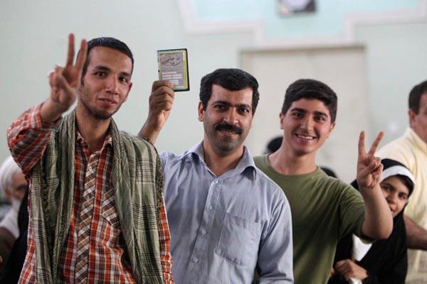 71175 315  (تصاویر) انتخابات ایران از چشم غربی