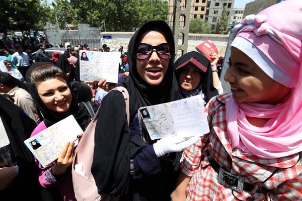 71176 156  (تصاویر) انتخابات ایران از چشم غربی