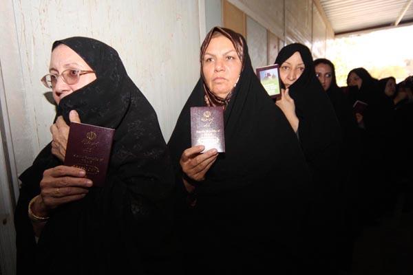 71177 744  (تصاویر) انتخابات ایران از چشم غربی