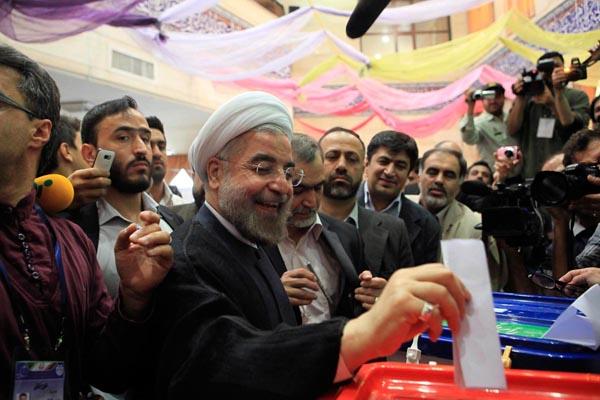 (تصاویر) انتخابات ایران از چشم غربی