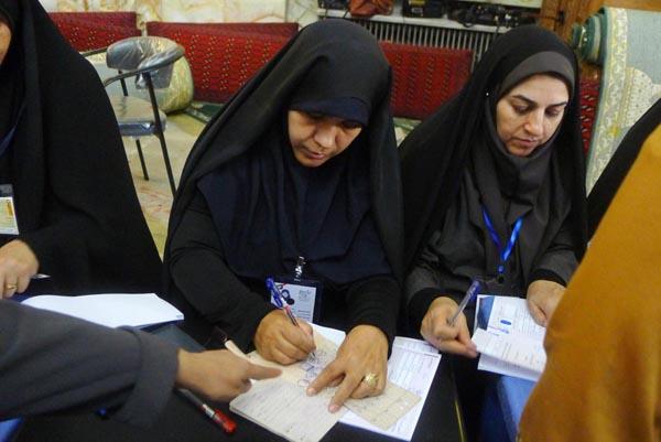71186 811  (تصاویر) انتخابات ایران از چشم غربی