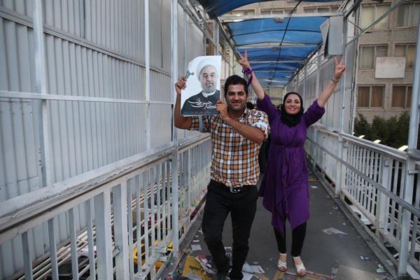71190 388  (تصاویر) انتخابات ایران از چشم غربی