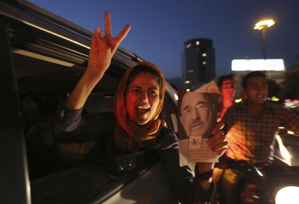 71199 841  (تصاویر) انتخابات ایران از چشم غربی