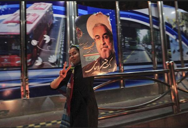 71200 922  (تصاویر) انتخابات ایران از چشم غربی
