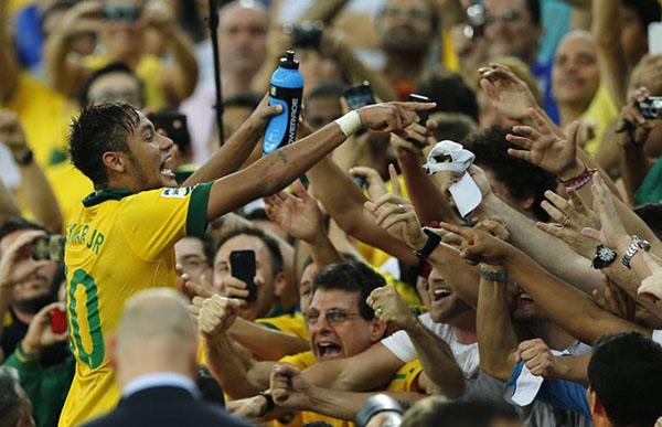 گزارش تصويري از حواشي قهرماني برزيل در جام كنفدراسيون ها